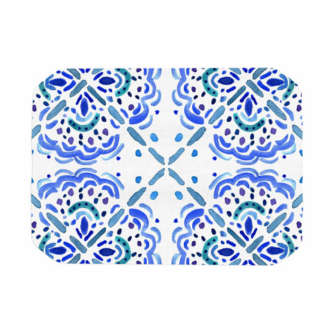 "Catherine Holcombe ""Amalifi Coast"" Blue White Painting Place Mat"