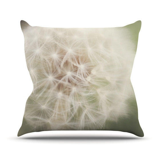 "Catherine McDonald ""Dandelion"" Outdoor Throw Pillow - KESS InHouse  - 1"