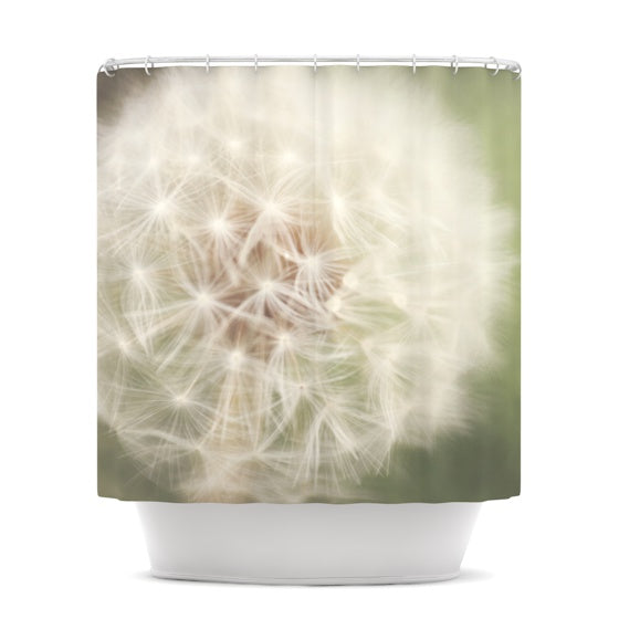"Catherine McDonald ""Dandelion"" Shower Curtain - KESS InHouse"