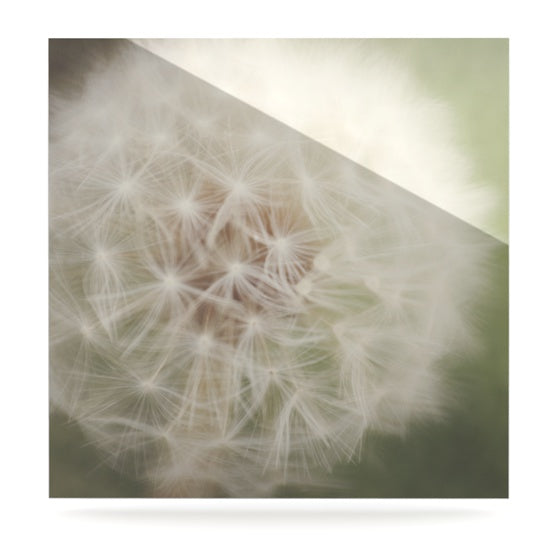 "Catherine McDonald ""Dandelion"" Luxe Square Panel - KESS InHouse  - 1"