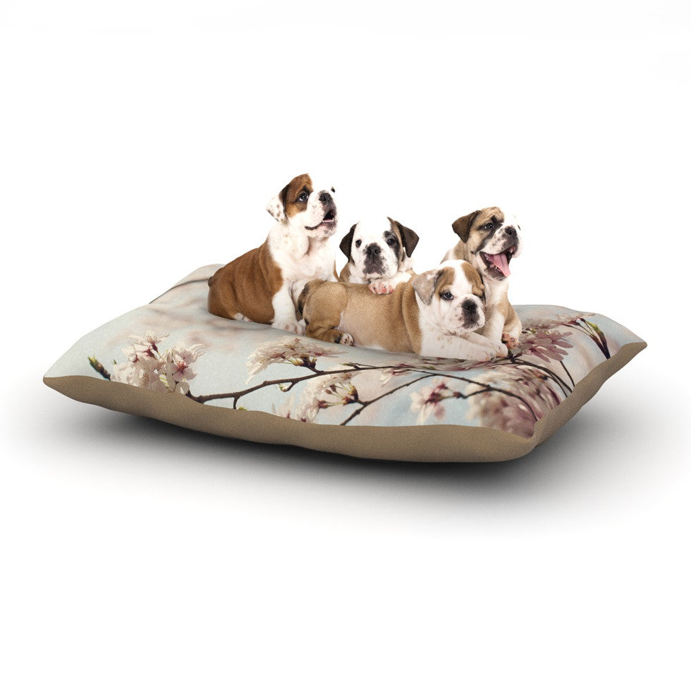 "Catherine McDonald ""Japanese Cherry Blossom"" Dog Bed - KESS InHouse  - 1"