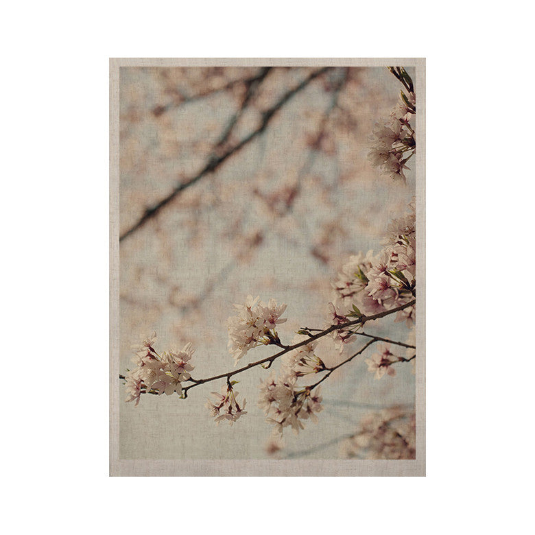 "Catherine McDonald ""Japanese Cherry Blossom"" KESS Naturals Canvas (Frame not Included) - KESS InHouse  - 1"