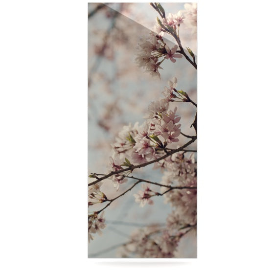 "Catherine McDonald ""Japanese Cherry Blossom"" Luxe Rectangle Panel - KESS InHouse  - 1"
