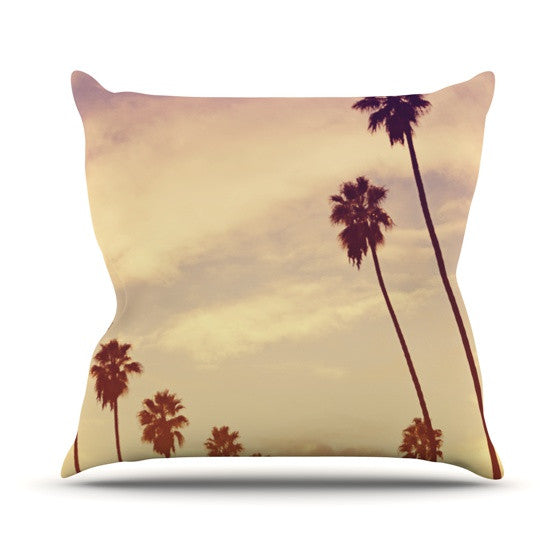 "Catherine McDonald ""Endless Summer"" Outdoor Throw Pillow"