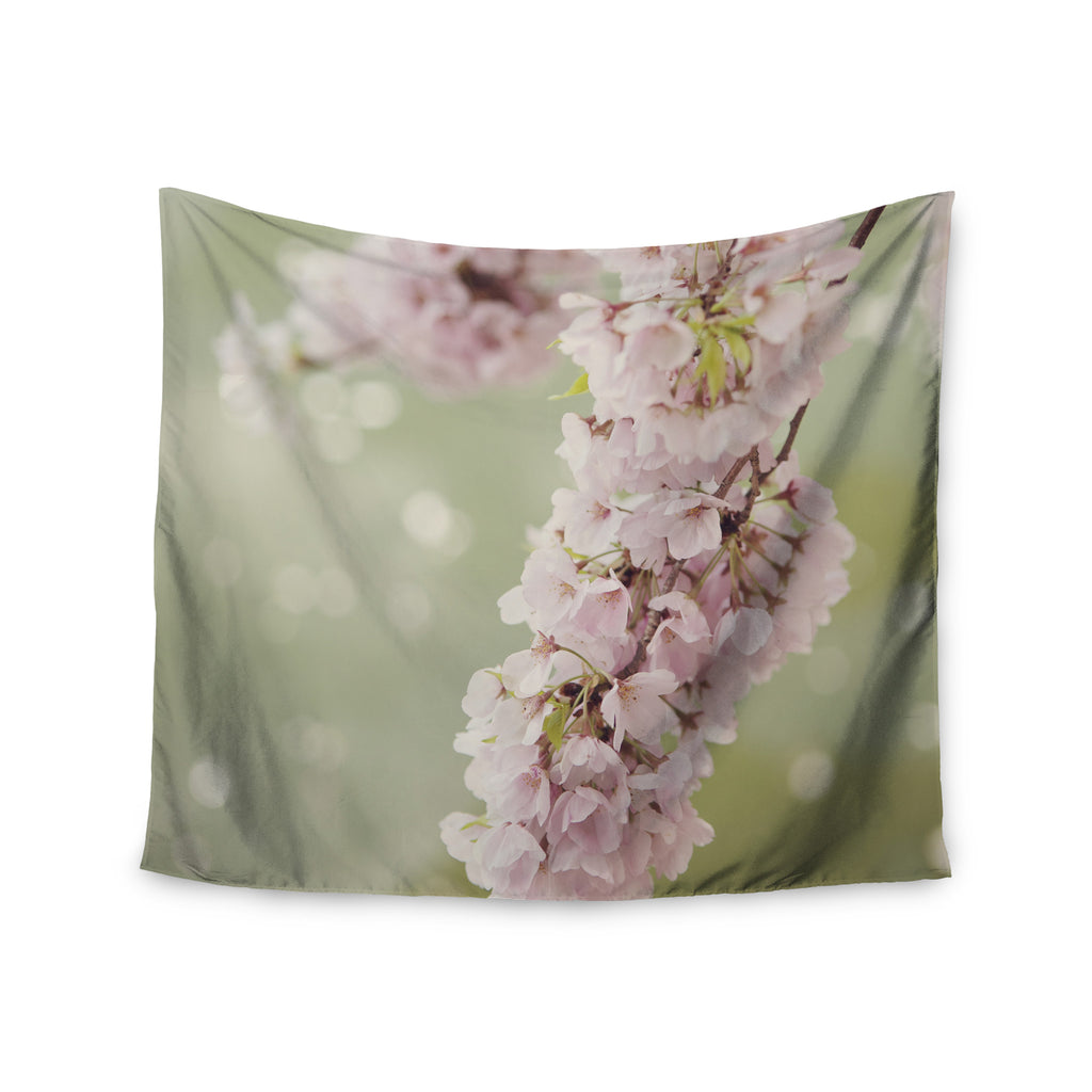 "Catherine McDonald ""Cherry Blossom"" Wall Tapestry - KESS InHouse  - 1"