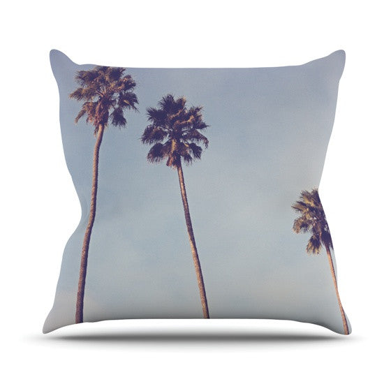 "Catherine McDonald ""Sunshine and Warmth"" Outdoor Throw Pillow - KESS InHouse  - 1"