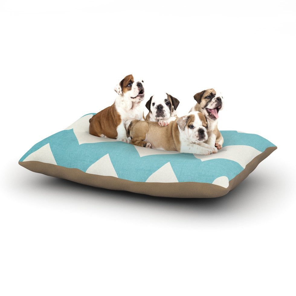 "Catherine McDonald ""Salt Water Cure"" Dog Bed - KESS InHouse  - 1"