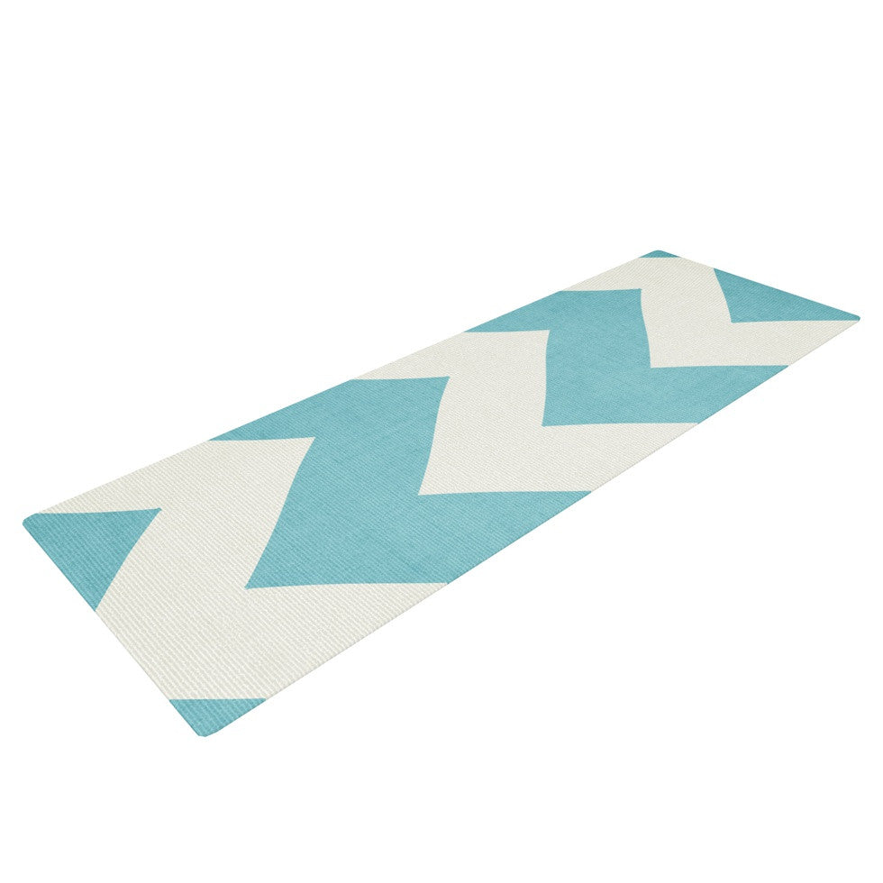 "Catherine McDonald ""Salt Water Cure"" Yoga Mat - KESS InHouse  - 1"