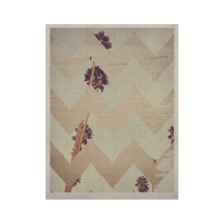 "Catherine McDonald ""Oasis"" KESS Naturals Canvas (Frame not Included) - KESS InHouse  - 1"