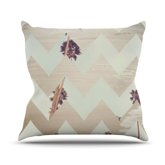 "Catherine McDonald ""Oasis"" Outdoor Throw Pillow - KESS InHouse  - 1"