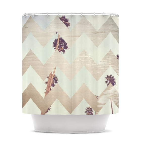 "Catherine McDonald ""Oasis"" Shower Curtain - KESS InHouse"