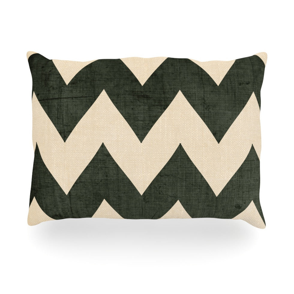 "Catherine McDonald ""Vintage Vinyl"" Oblong Pillow - KESS InHouse"