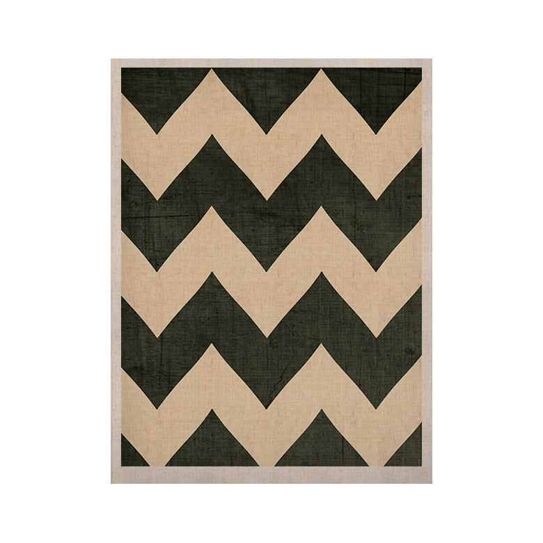 "Catherine McDonald ""Vintage Vinyl"" KESS Naturals Canvas (Frame not Included) - KESS InHouse  - 1"