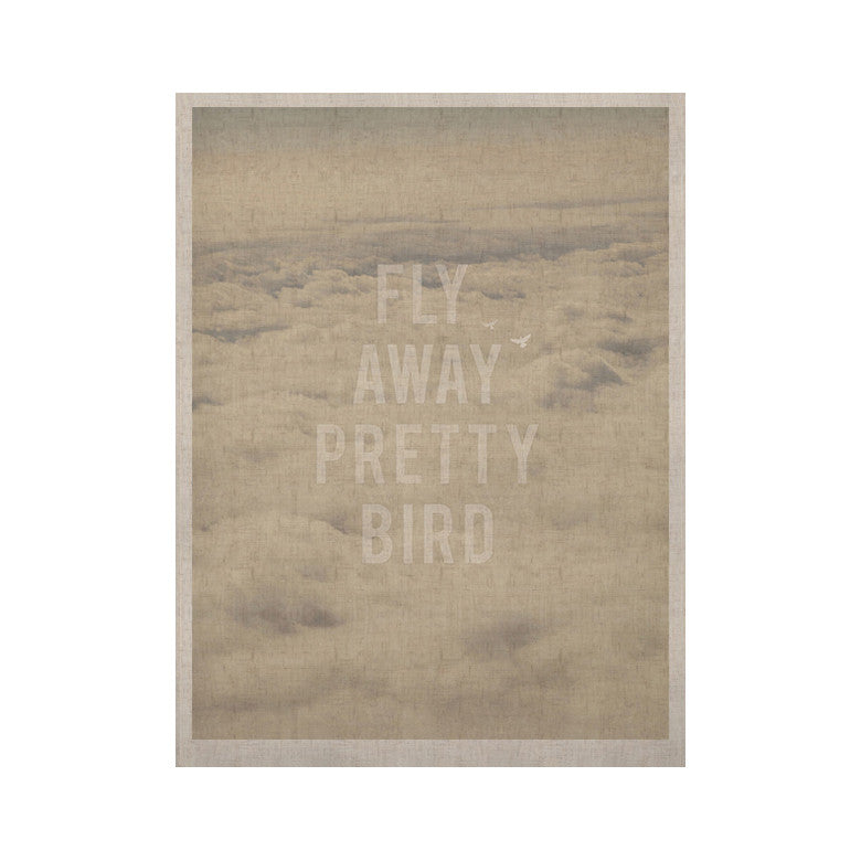 "Catherine McDonald ""Fly Away Pretty Bird"" KESS Naturals Canvas (Frame not Included) - KESS InHouse  - 1"
