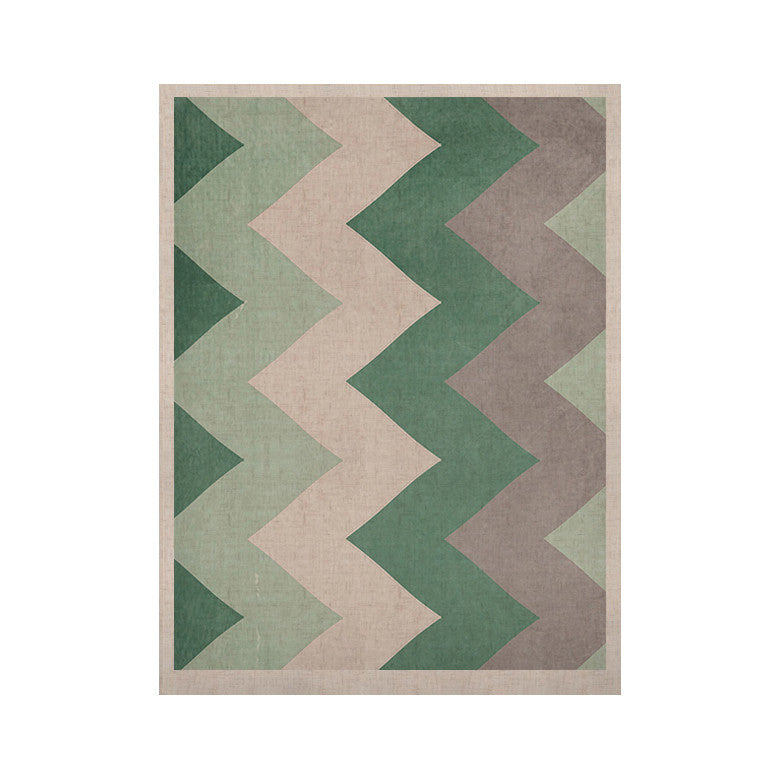 "Catherine McDonald ""Winter Green"" KESS Naturals Canvas (Frame not Included) - KESS InHouse  - 1"
