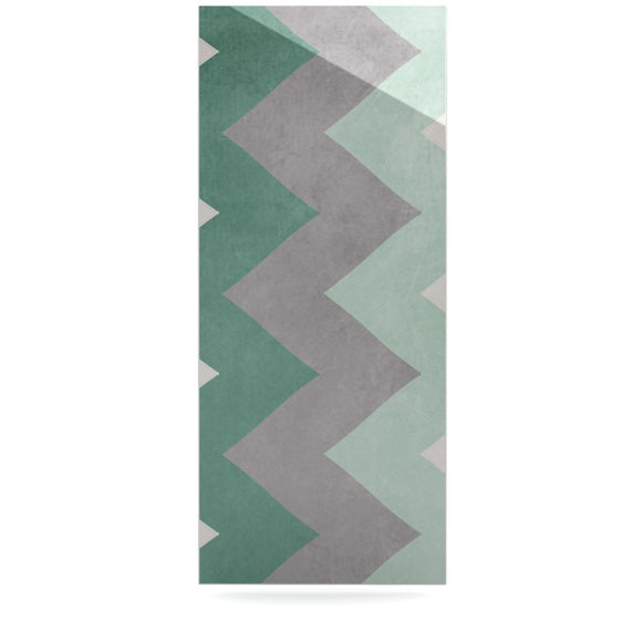 "Catherine McDonald ""Winter Green"" Luxe Rectangle Panel - KESS InHouse  - 1"