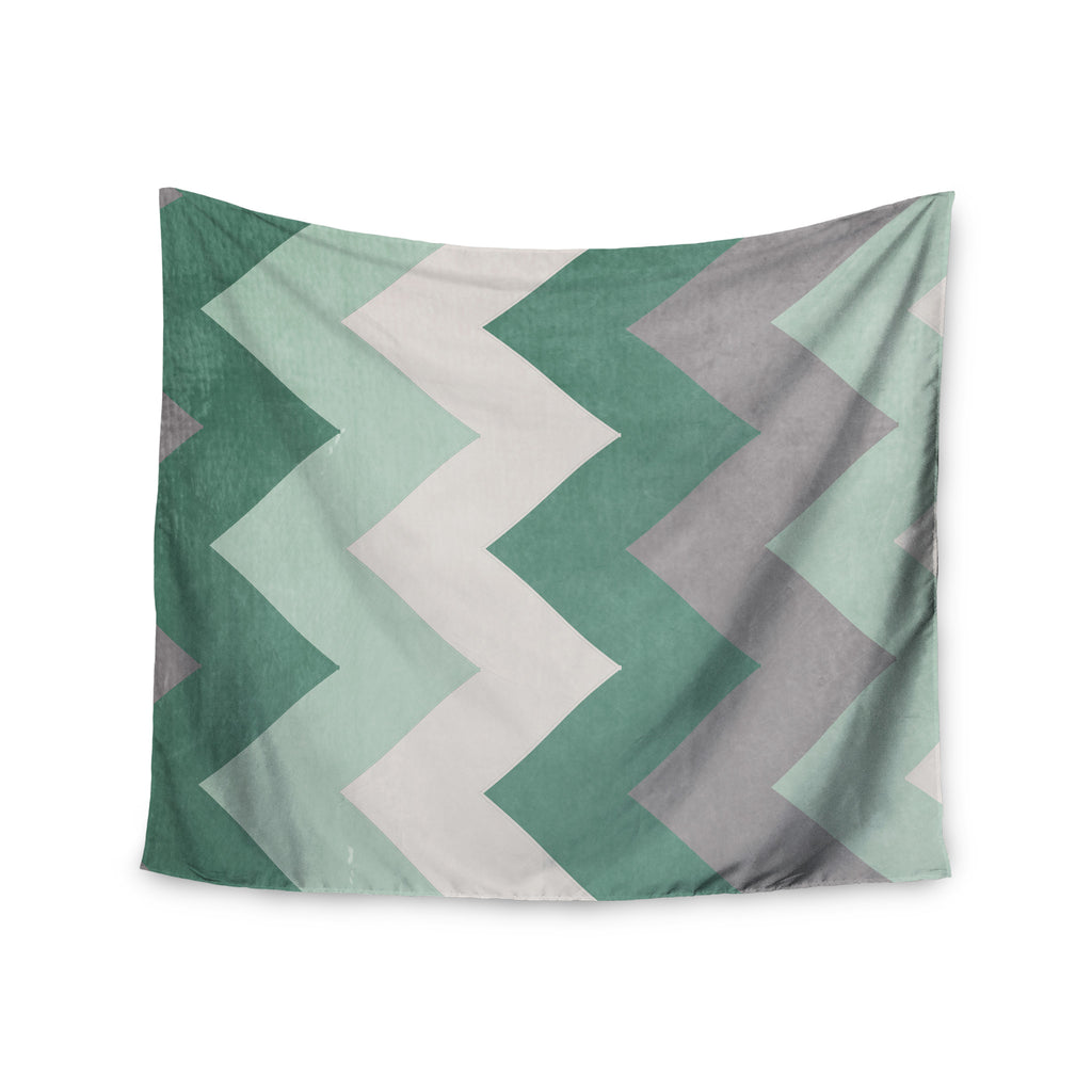 "Catherine McDonald ""Winter Green"" Wall Tapestry - KESS InHouse  - 1"