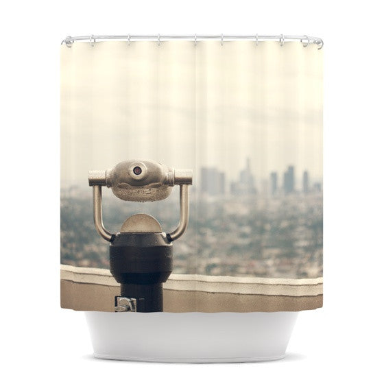 "Catherine McDonald ""The View LA"" Shower Curtain - KESS InHouse"