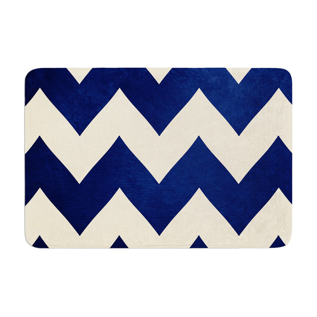 "Catherine McDonald ""Fleet Week"" Memory Foam Bath Mat - KESS InHouse"