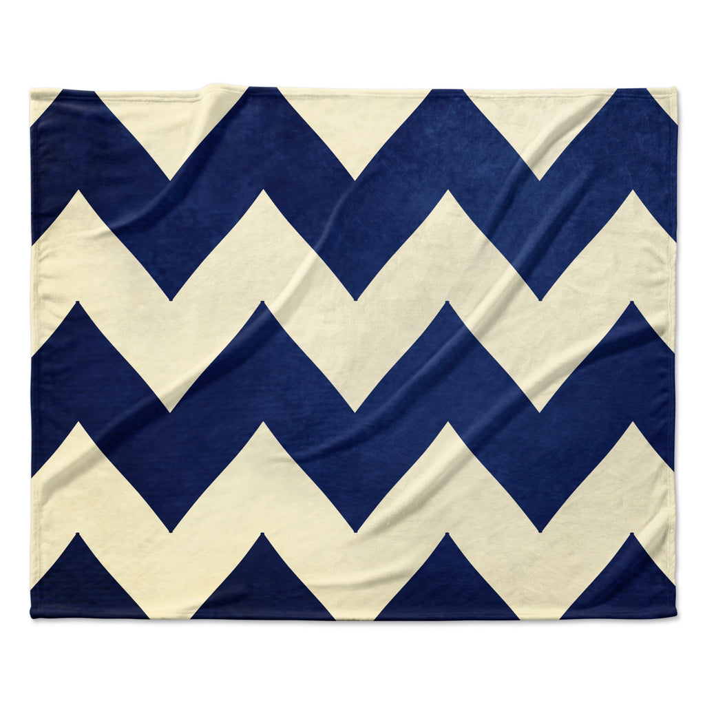"Catherine McDonald ""Fleet Week"" Fleece Throw Blanket"