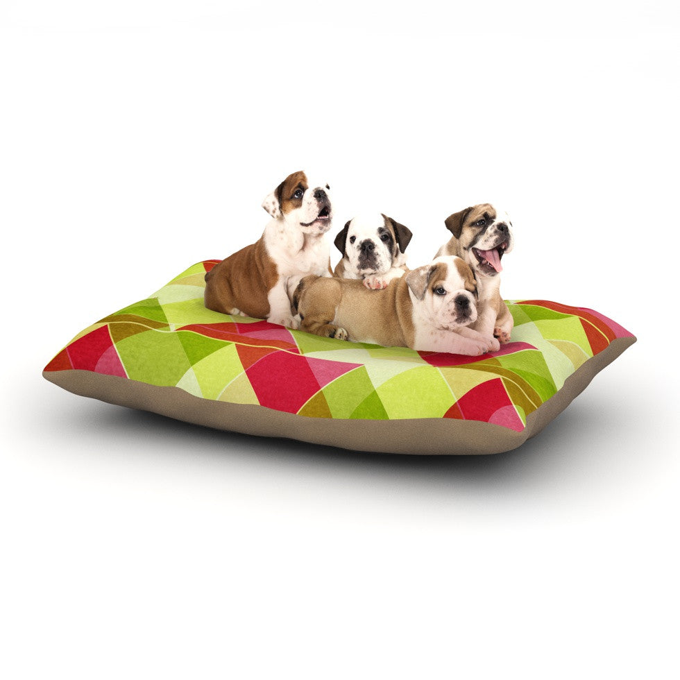 "Catherine McDonald ""Palm Beach"" Dog Bed - KESS InHouse  - 1"
