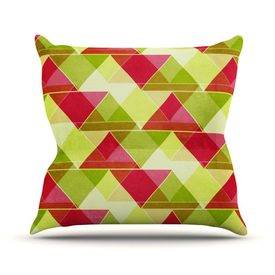 "Catherine McDonald ""Palm Beach"" Throw Pillow - KESS InHouse  - 1"