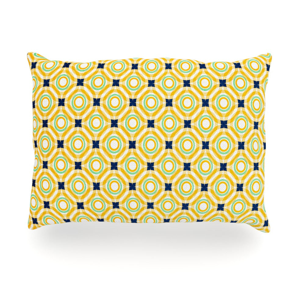 "Catherine McDonald ""Tossing Pennies II"" Oblong Pillow - KESS InHouse"
