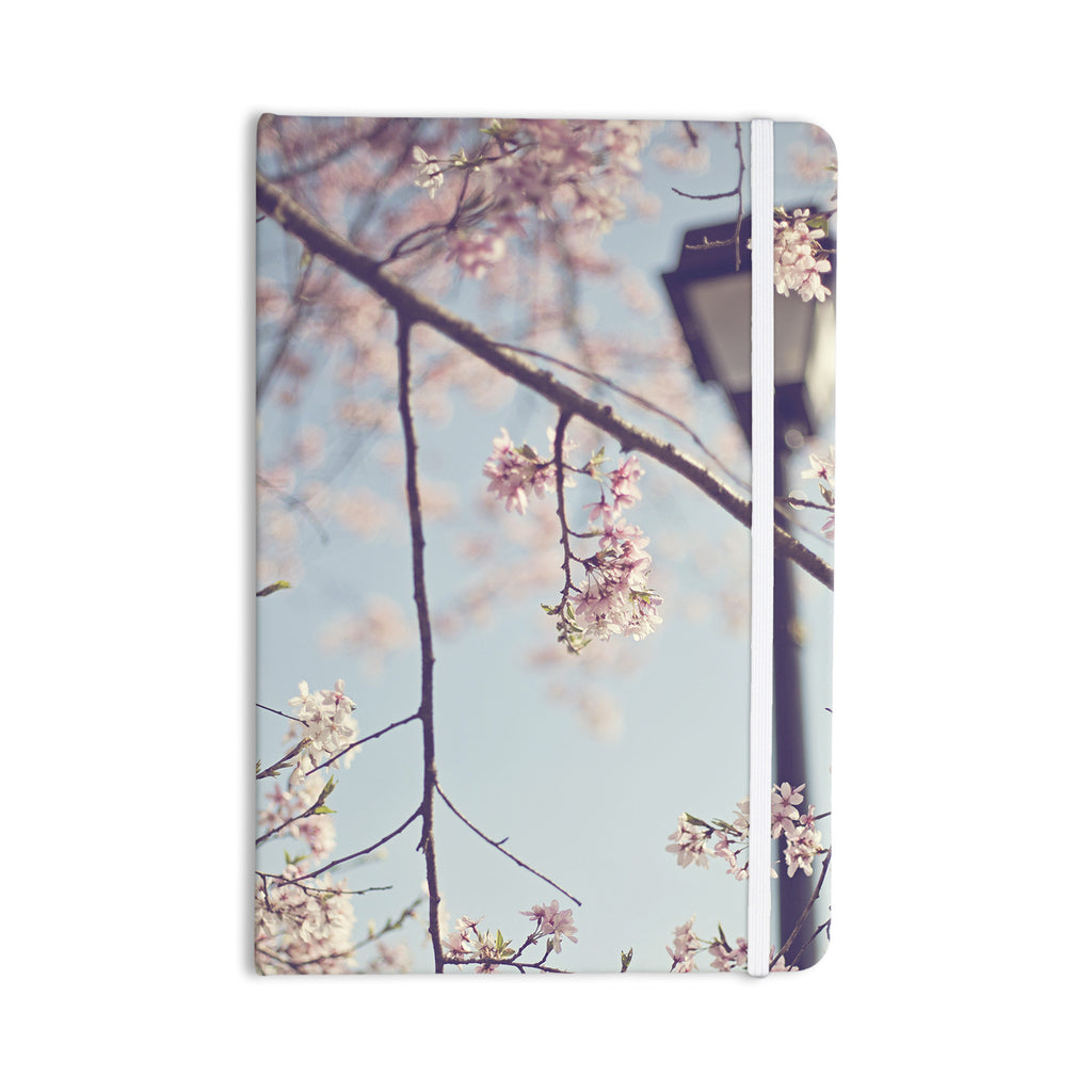 "Catherine McDonald ""Walk with Me"" Cherry Blossom Everything Notebook - KESS InHouse  - 1"