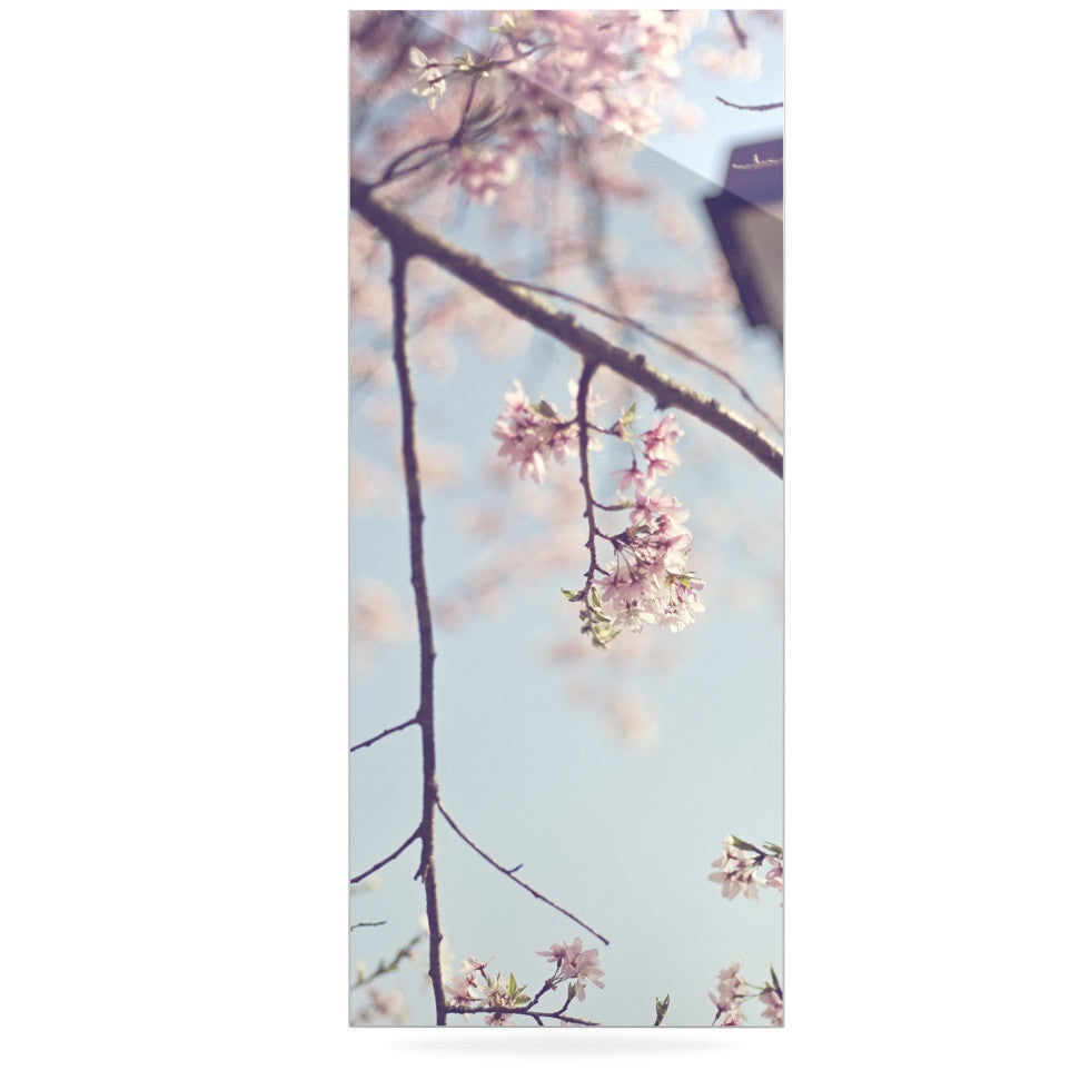 "Catherine McDonald ""Walk with Me"" Cherry Blossom Luxe Rectangle Panel - KESS InHouse  - 1"