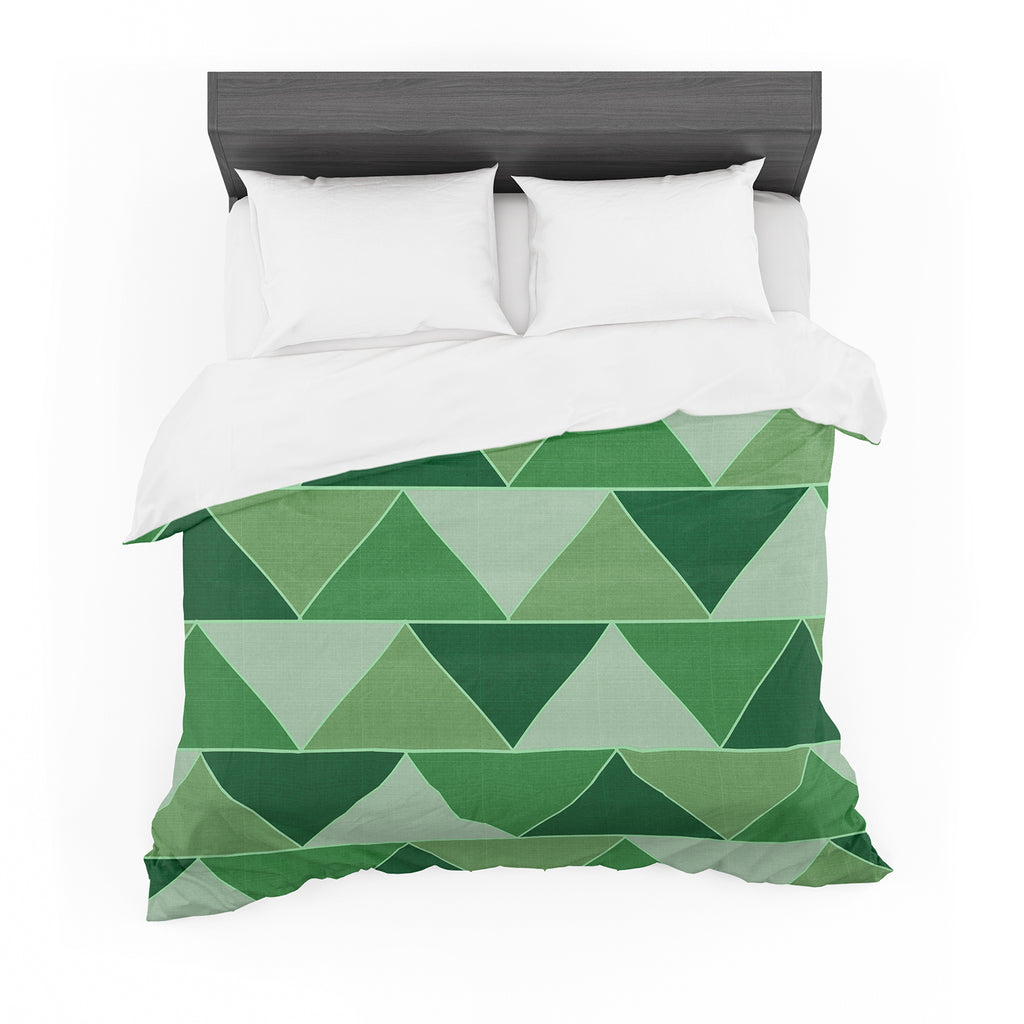 "Catherine McDonald ""Emerald City"" Cotton Duvet"