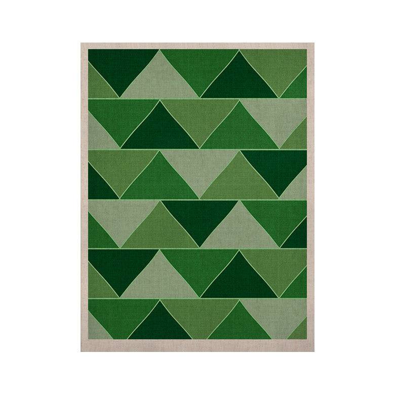 "Catherine McDonald ""Emerald City"" KESS Naturals Canvas (Frame not Included) - KESS InHouse  - 1"