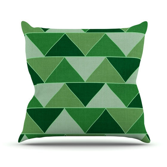 "Catherine McDonald ""Emerald City"" Outdoor Throw Pillow - KESS InHouse  - 1"
