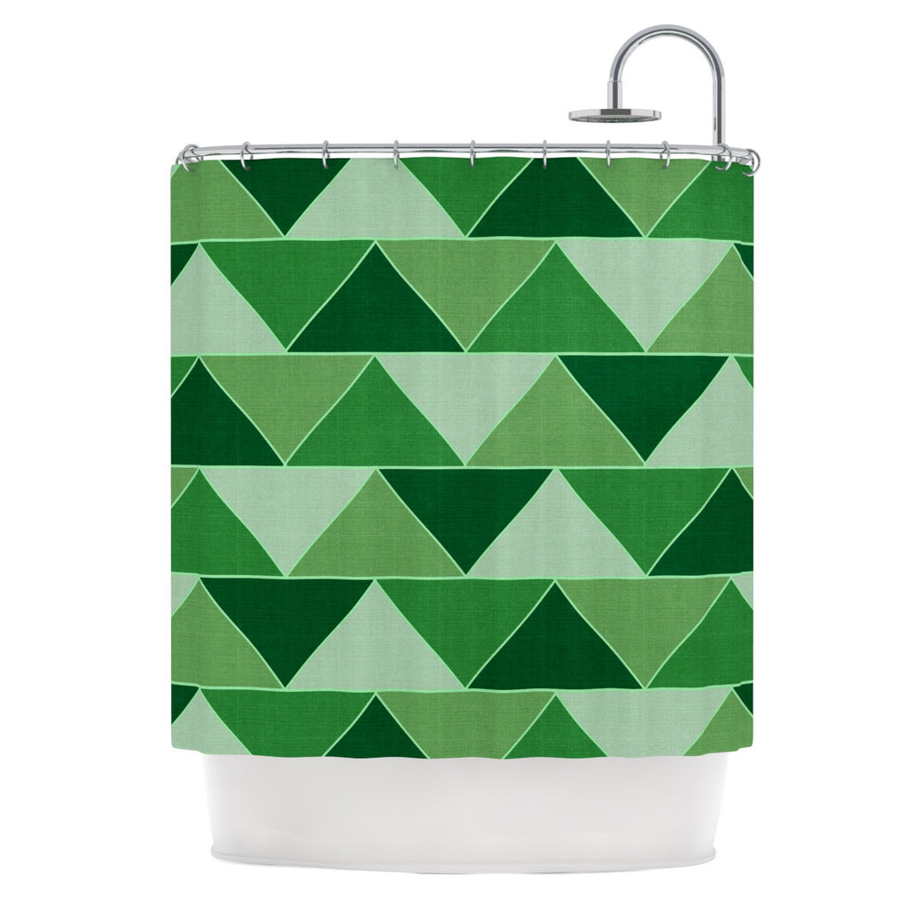 "Catherine McDonald ""Emerald City"" Shower Curtain - KESS InHouse"