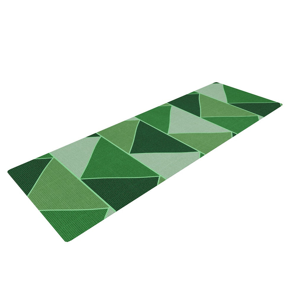 "Catherine McDonald ""Emerald City"" Yoga Mat - KESS InHouse  - 1"