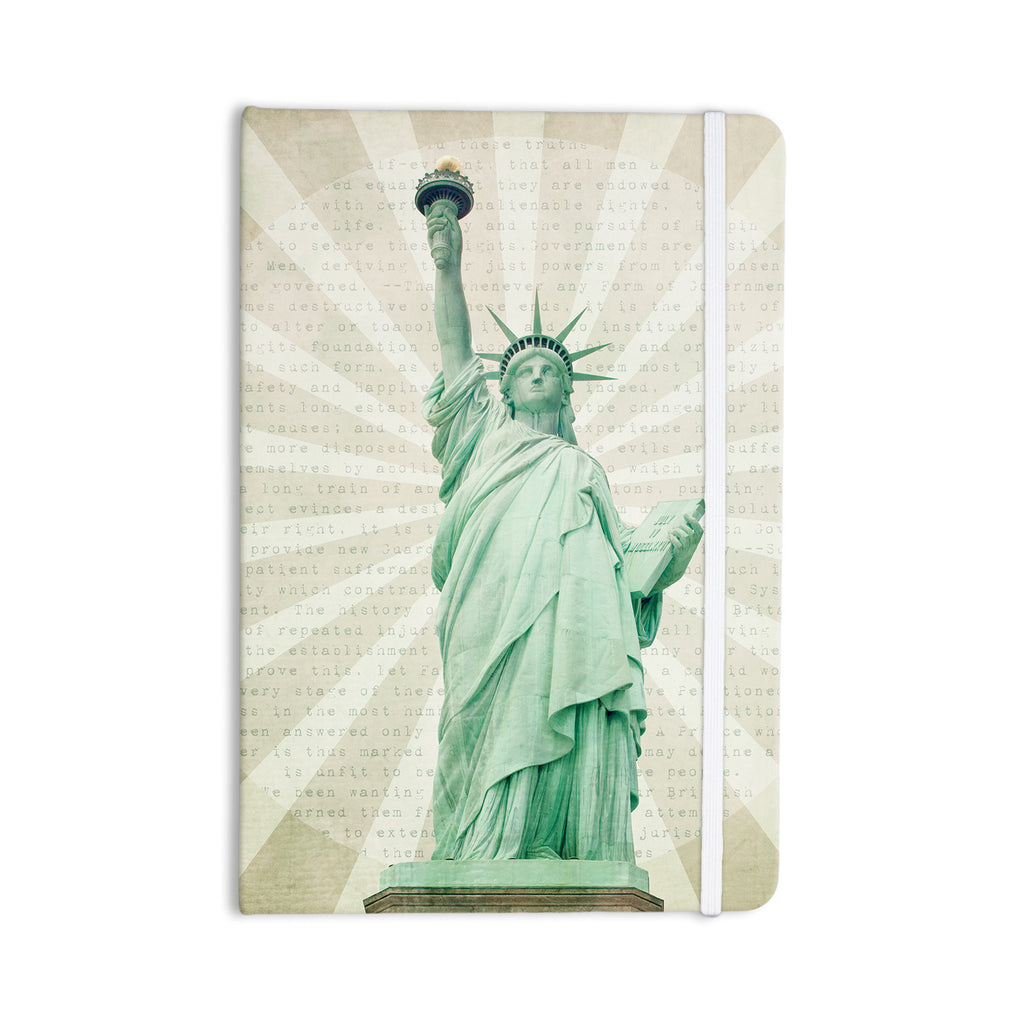 "Catherine McDonald ""The Lady"" Statue of Liberty Everything Notebook - KESS InHouse  - 1"