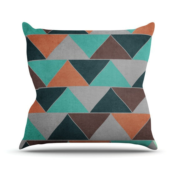 "Catherine McDonald ""Southwest"" Outdoor Throw Pillow - KESS InHouse  - 1"