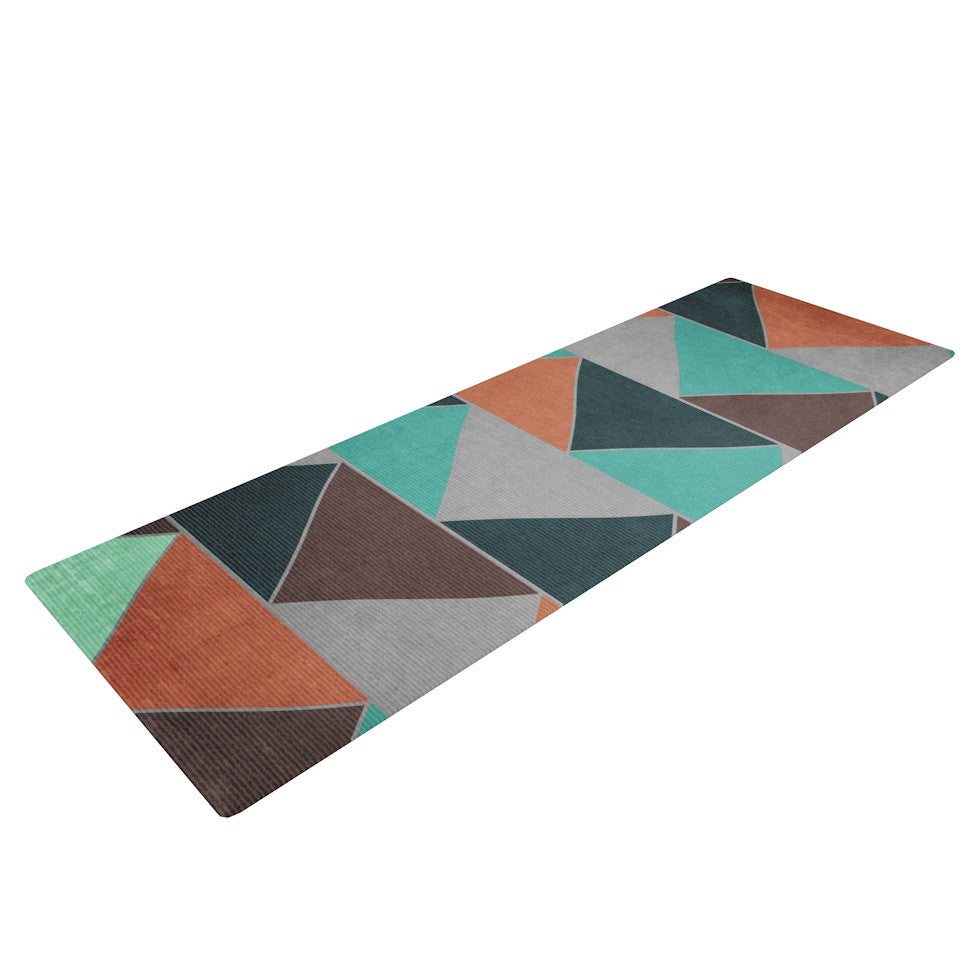 "Catherine McDonald ""Southwest"" Yoga Mat - KESS InHouse  - 1"