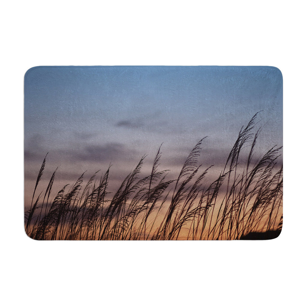 "Catherine McDonald ""Sunset on the Beach"" Memory Foam Bath Mat - KESS InHouse"