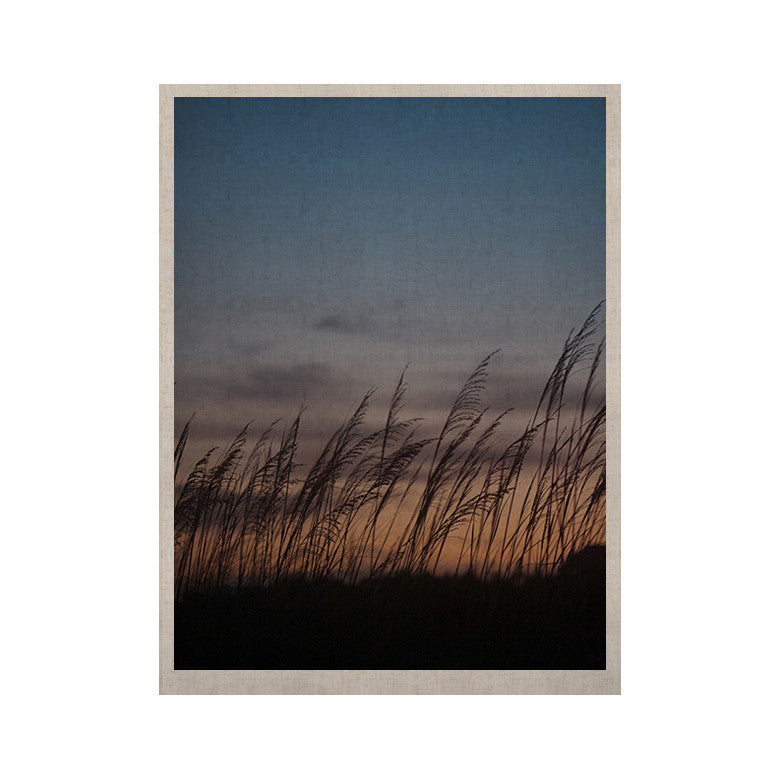 "Catherine McDonald ""Sunset on the Beach"" KESS Naturals Canvas (Frame not Included) - KESS InHouse  - 1"