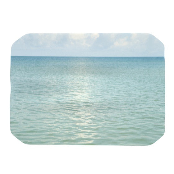 "Catherine McDonald ""Cloud Reflection"" Place Mat - KESS InHouse"