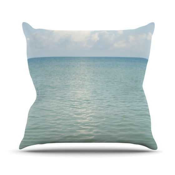 "Catherine McDonald ""Cloud Reflection"" Outdoor Throw Pillow"