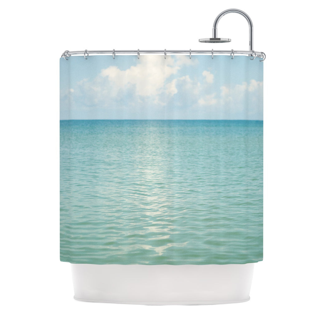 "Catherine McDonald ""Cloud Reflection"" Shower Curtain - KESS InHouse"