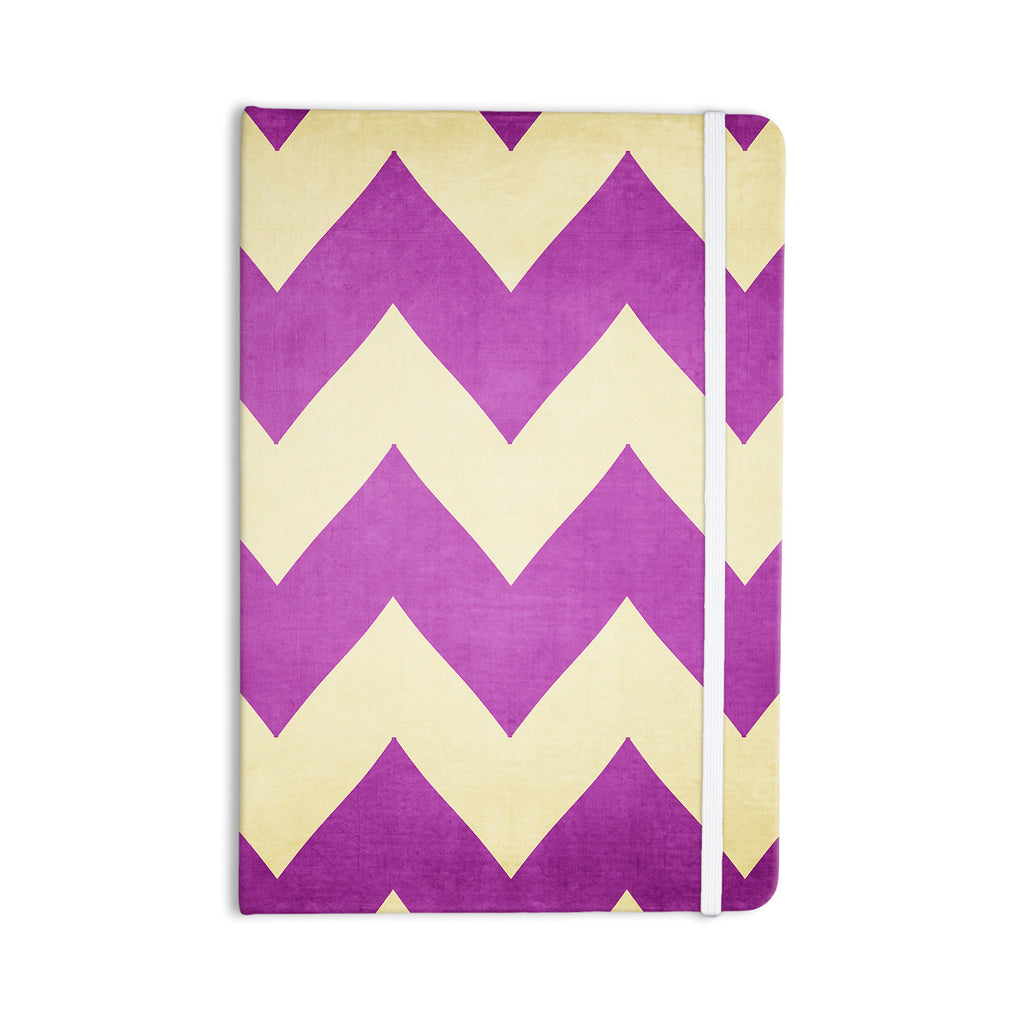 "Catherine McDonald ""Juicy"" Chevron Everything Notebook - KESS InHouse  - 1"