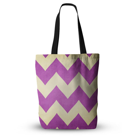 "Catherine McDonald ""Juicy"" Chevron Everything Tote Bag - KESS InHouse  - 1"