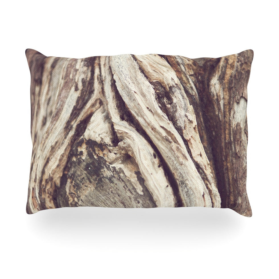 "Catherine McDonald ""Bark"" Oblong Pillow - KESS InHouse"