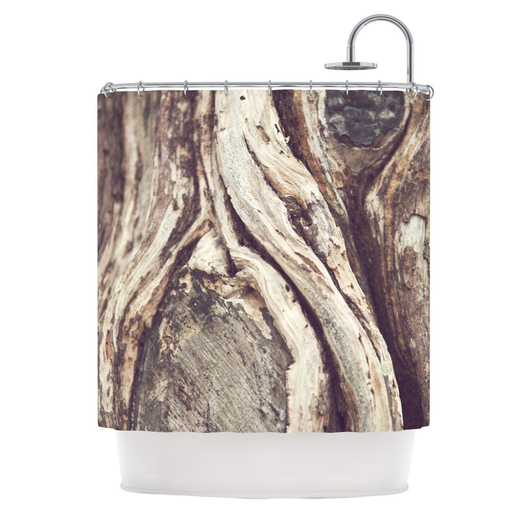 "Catherine McDonald ""Bark"" Shower Curtain - KESS InHouse"