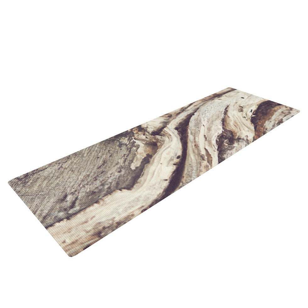 "Catherine McDonald ""Bark"" Yoga Mat - KESS InHouse  - 1"