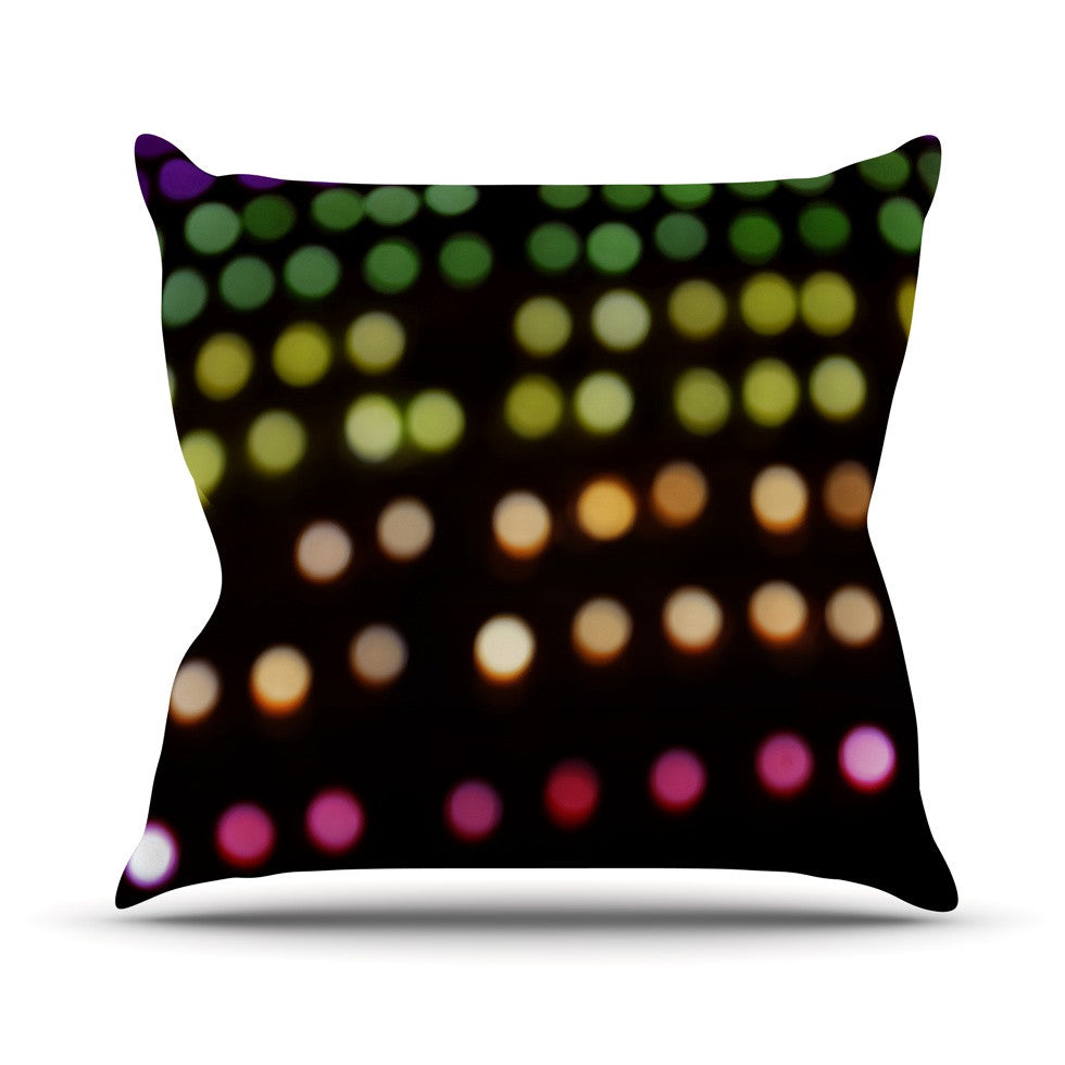 "Catherine McDonald ""City Lights"" Throw Pillow - KESS InHouse  - 1"