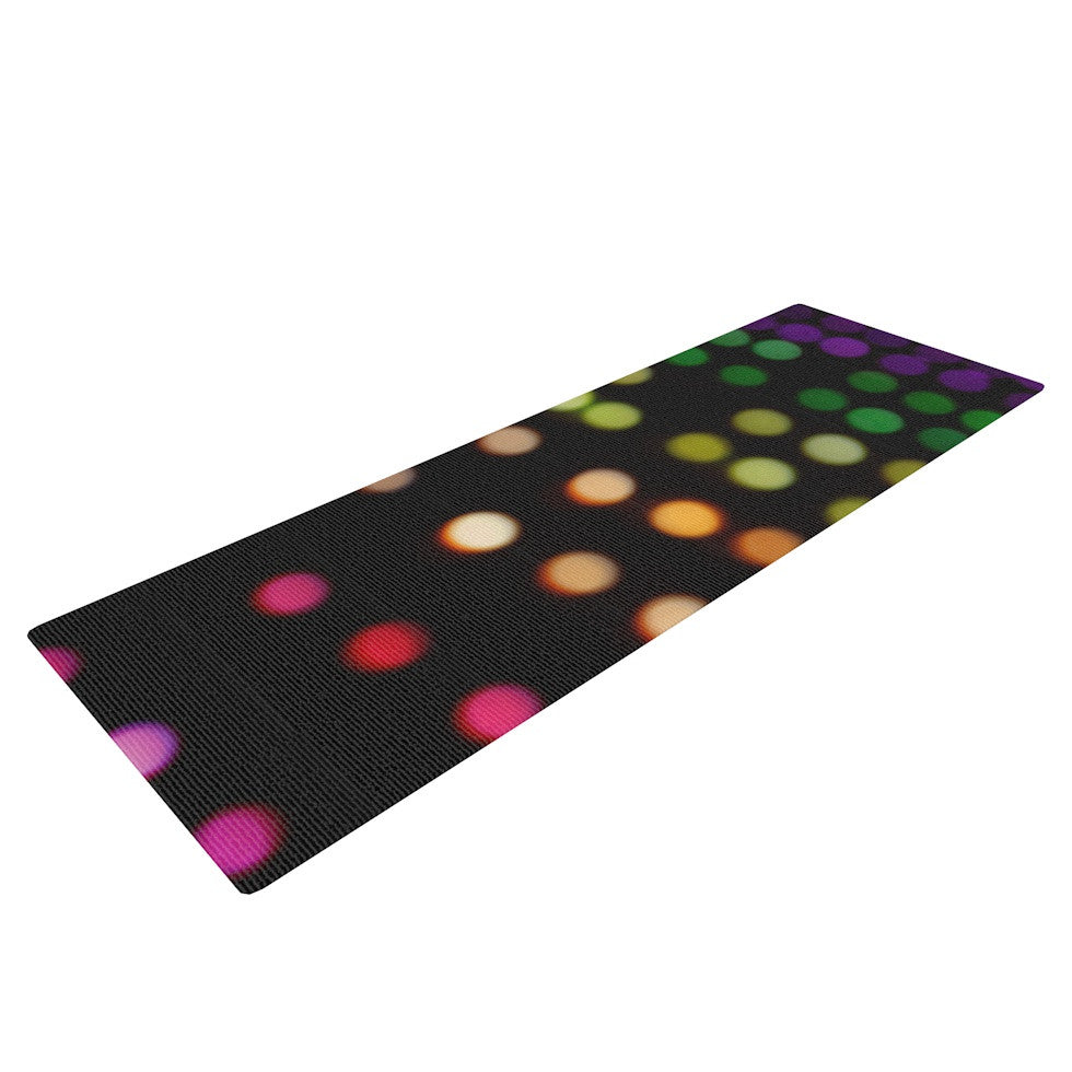 "Catherine McDonald ""City Lights"" Yoga Mat - KESS InHouse  - 1"