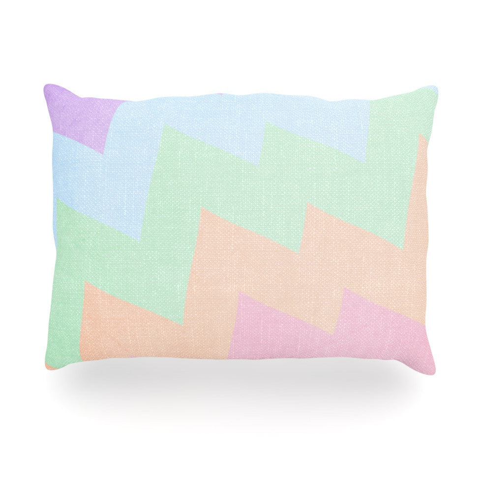 "Catherine McDonald ""Blaze"" Oblong Pillow - KESS InHouse"